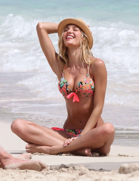 Candice Swanepoel – VS 2012 Bikini Photoshoot-37