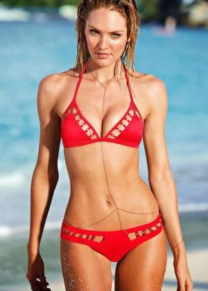 Candice Swanepoel: VS Bikini Collection -09