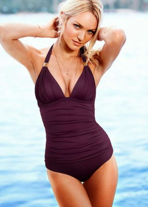 Candice Swanepoel: VS Bikini Collection -19