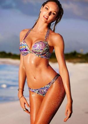 Candice Swanepoel: VS Bikini Collection -24