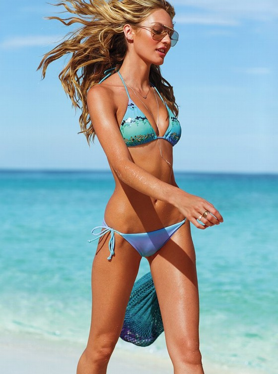 Candice Swanepoel in bikini for Victorias Secret -04