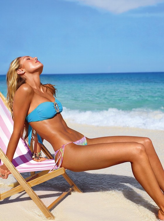 Candice Swanepoel in bikini for Victorias Secret -05
