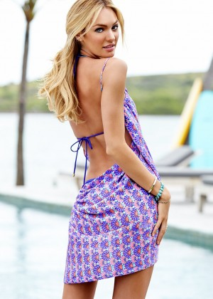 Candice Swanepoel in Bikini for VS 2014 -02