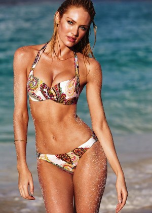 Candice Swanepoel in Bikini for VS 2014 -07