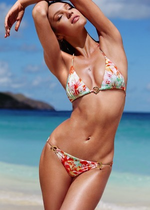 Candice Swanepoel in Bikini for VS 2014 -08