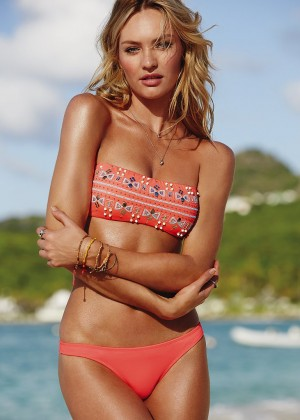 Candice Swanepoel in Bikini for VS 2014 -09