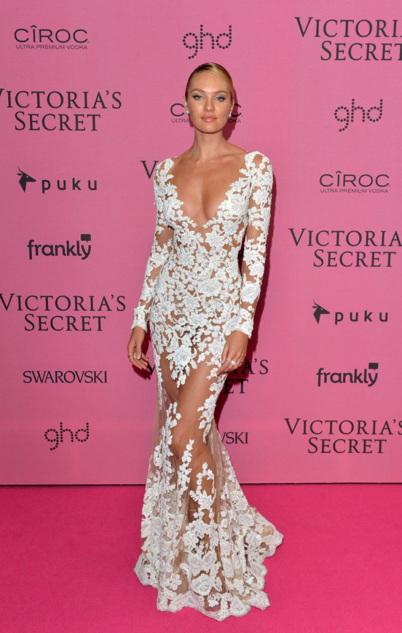 Candice Swanepoel Vs Fashion Show After Party 2014 01