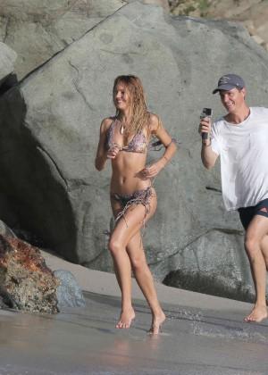 Candice Swanepoel - VS Bikini Photoshoot 2014 -02
