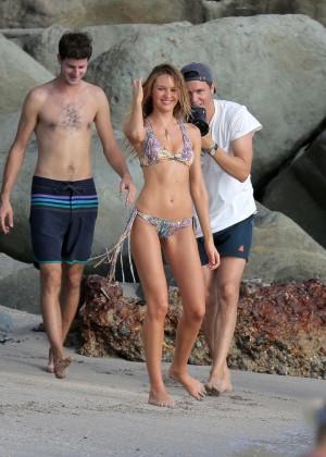 Candice Swanepoel - VS Bikini Photoshoot 2014 -16