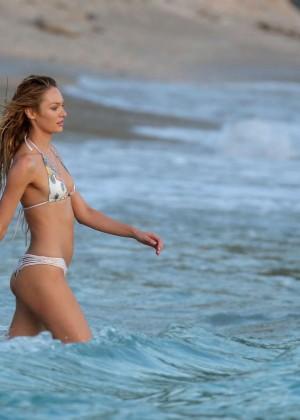Candice Swanepoel - VS Bikini Photoshoot 2014 -23