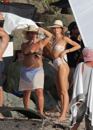 Candice Swanepoel - VS Bikini Photoshoot 2014 -28