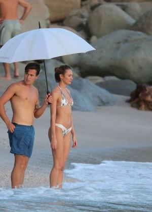 Candice Swanepoel - VS Bikini Photoshoot 2014 -31