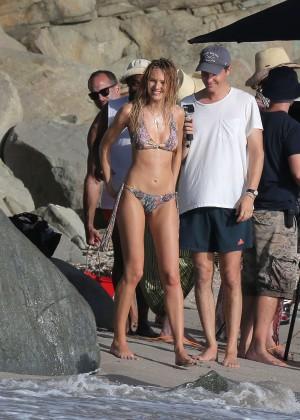Candice Swanepoel - VS Bikini Photoshoot 2014 -35