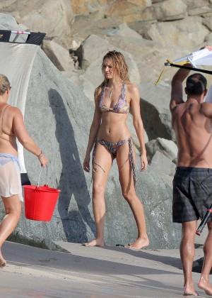 Candice Swanepoel - VS Bikini Photoshoot 2014 -38