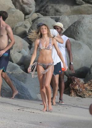 Candice Swanepoel - VS Bikini Photoshoot 2014 -40