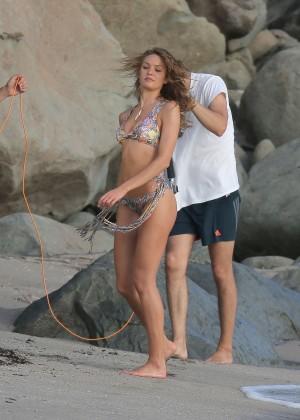 Candice Swanepoel - VS Bikini Photoshoot 2014 -46