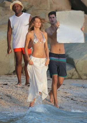 Candice Swanepoel - VS Bikini Photoshoot 2014 -48