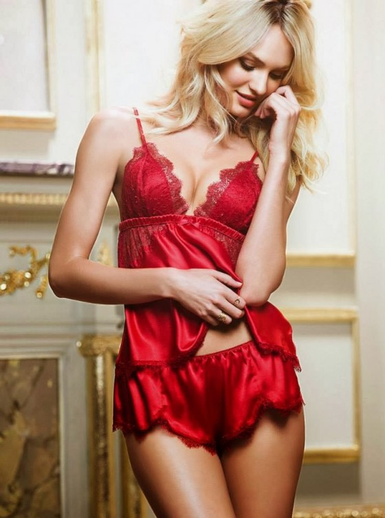 Candice Swanepoel: Victorias Secret Sleepwear -16