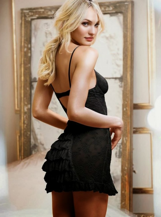 Candice Swanepoel: Victorias Secret Sleepwear -26