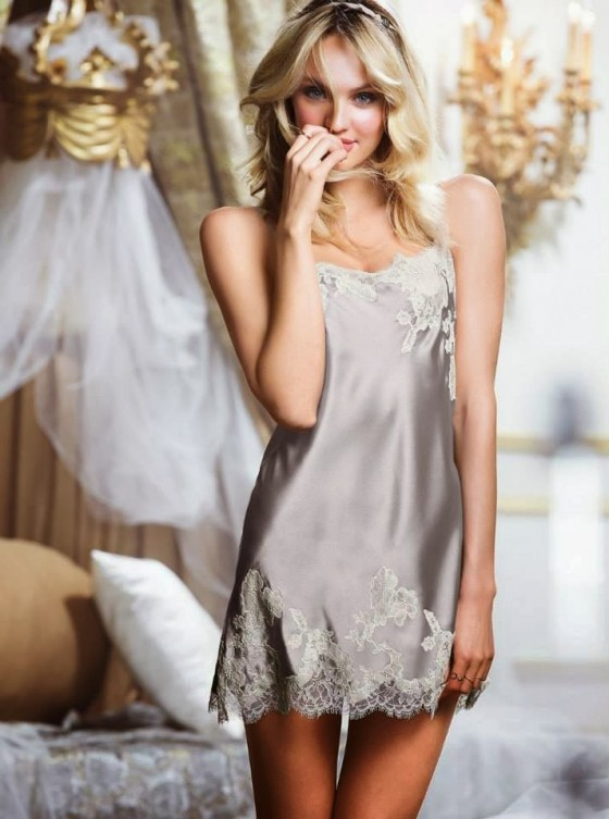 Candice Swanepoel: Victorias Secret Sleepwear -30