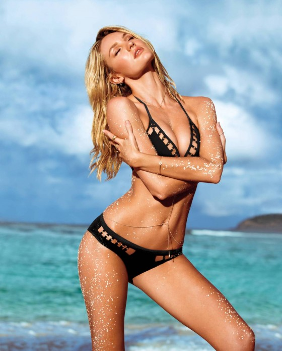 Candice Swanepoel: VS Swim 2014 Collection -01
