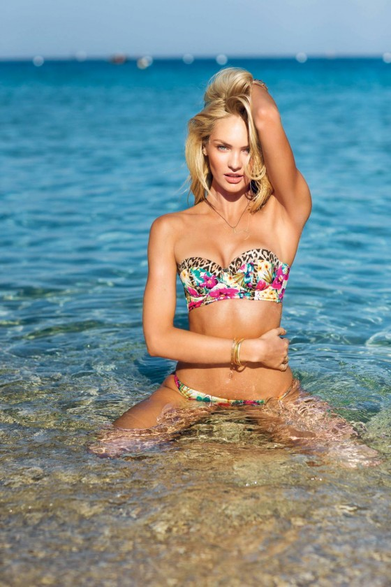 Candice Swanepoel: VS Swim 2014 Collection -04