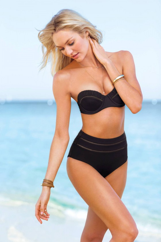 Candice Swanepoel: VS Swim 2014 Collection -05