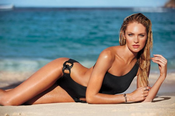Candice Swanepoel: VS Swim 2014 Collection -06