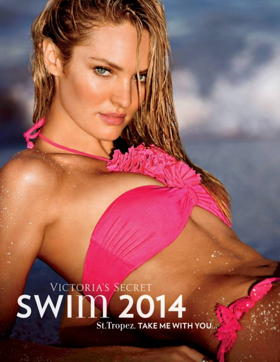 Candice Swanepoel: VS Swim 2014 Collection -07
