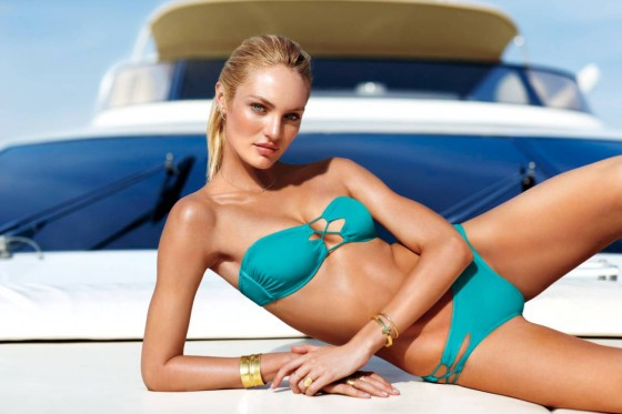 Candice Swanepoel: VS Swim 2014 Collection -08