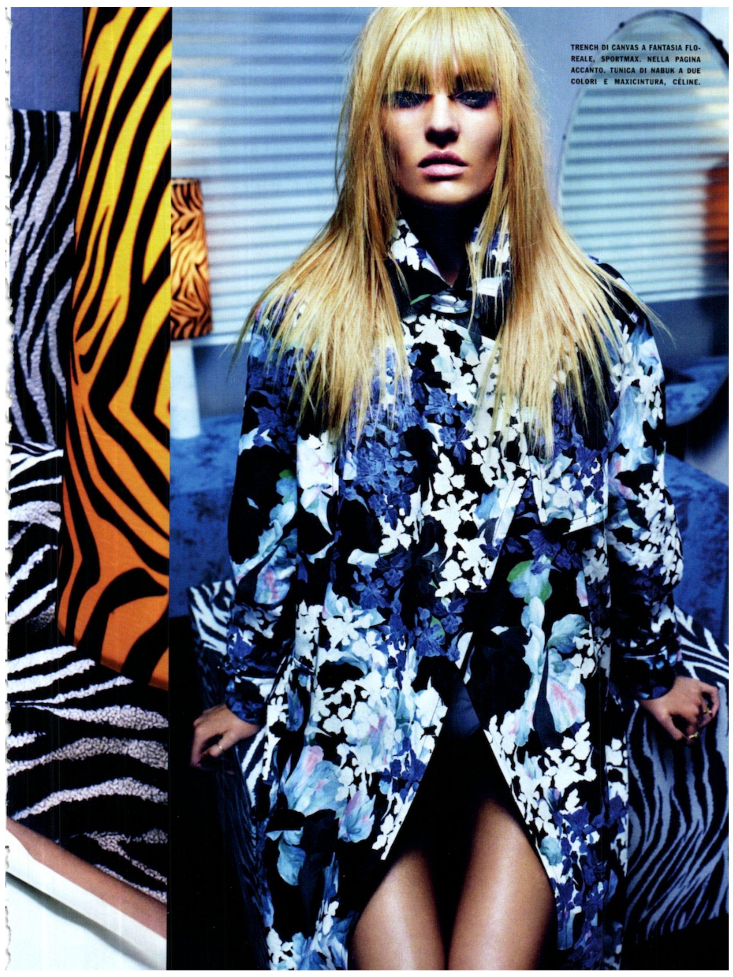rich girls.: Candice Swanepoel Vogue Brazil.
