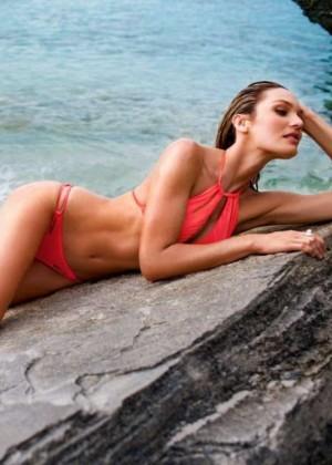 Candice Swanepoel: VS Bikini 2014 -04