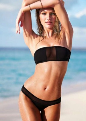 Candice Swanepoel: VS Bikini 2014 -16