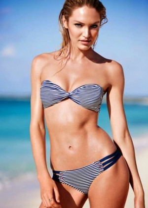 Candice Swanepoel: VS Bikini 2014 -23