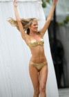 Candice Swanepoel - Hot In Gold Bikini-17