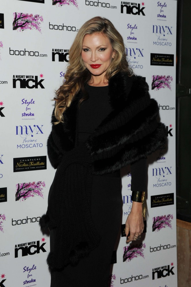 """Caprice Bourret at """"A Night With Nick"""" in London"""