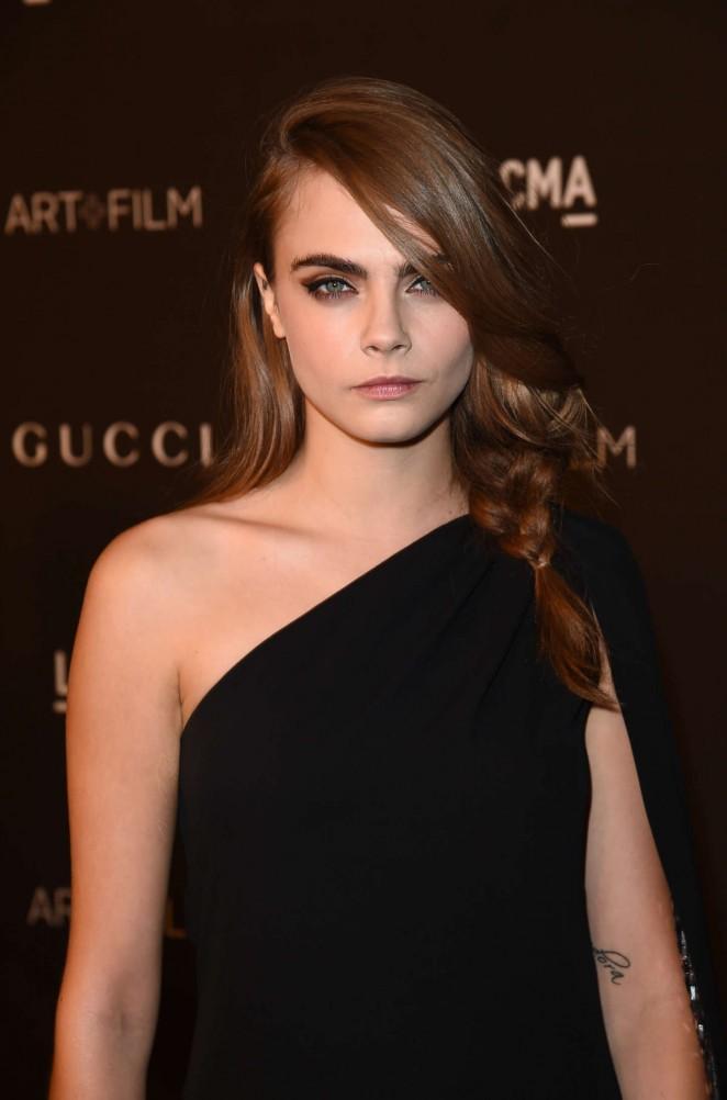 Cara Delevingne - LACMA Art + Film Gala 2014 in LA