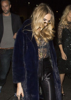 Cara Delevingne - AnOther Magazine's Party in London