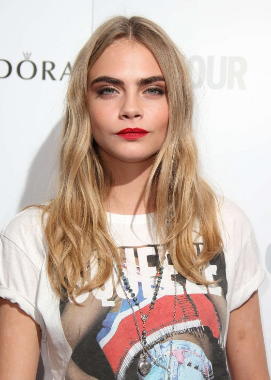 Cara Delevingne at 2013 Glamour Women Of The Year Awards -22