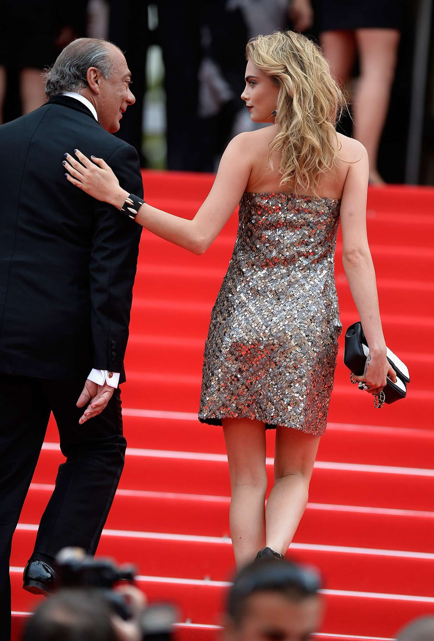 Cara Delevingne At The 67th Annual Cannes Film Festival