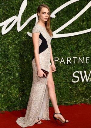 Cara Delevingne - 2014 British Fashion Awards in London