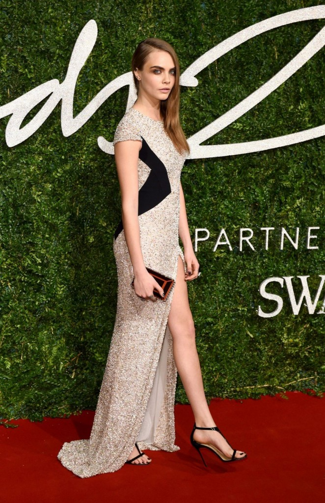 Cara Delevingne - 2014 British Fashion Awards in London
