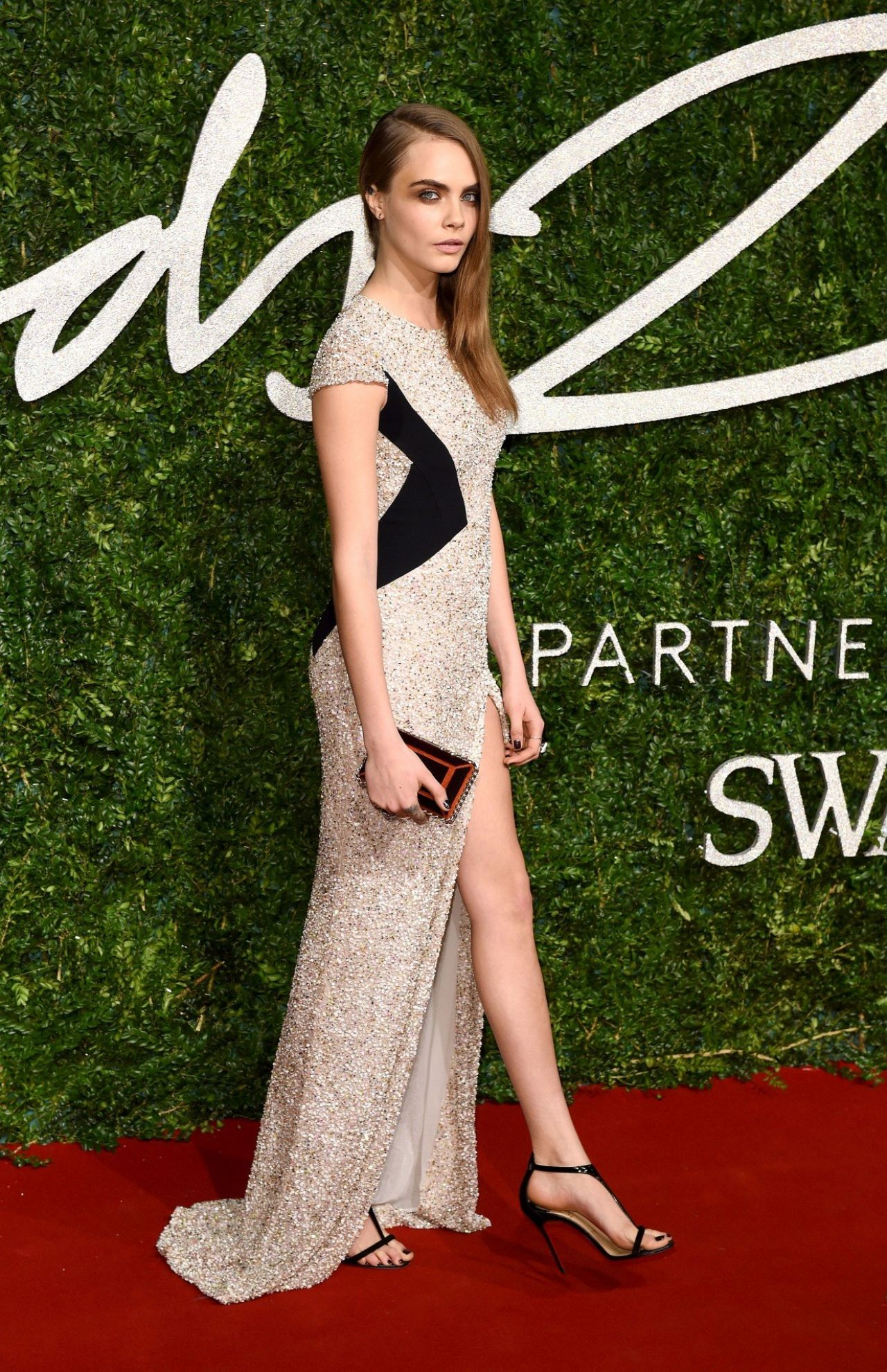 Cara delevingne 2014 british fashion awards in london for British mode