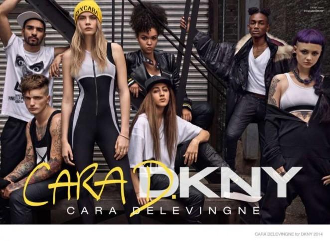 Cara Delevingne - DKNY Campaign 2014