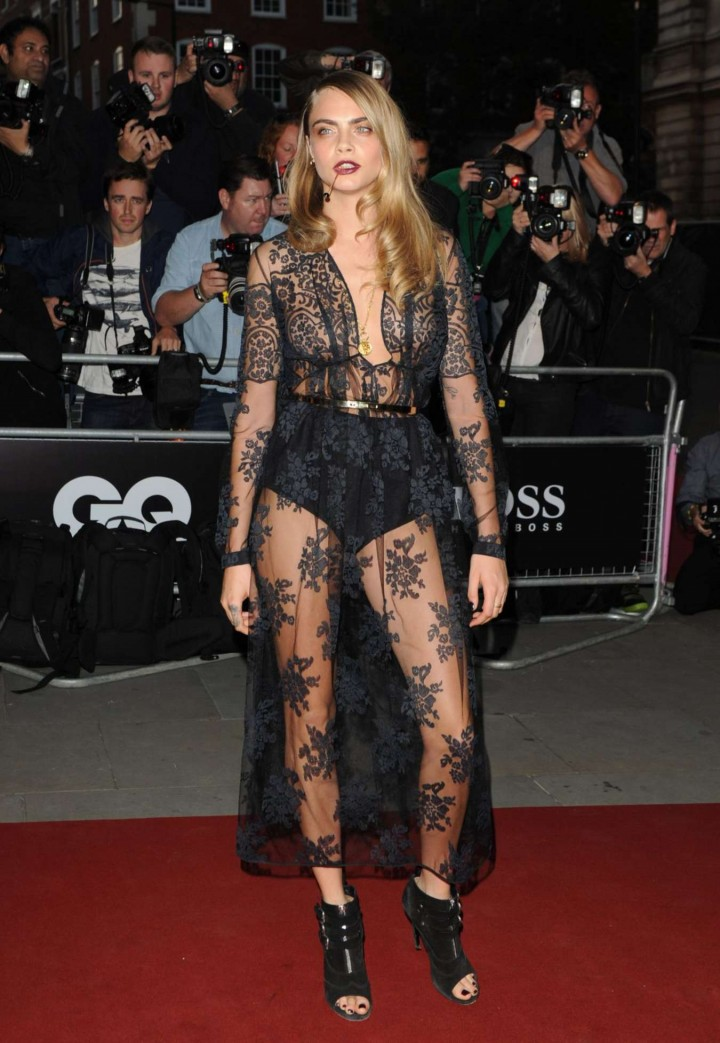 Cara Delevingne - 2014 GQ Men of the Year Awards in London