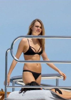 Cara Delevingne Bikini Photos: St Tropez  2014 -03