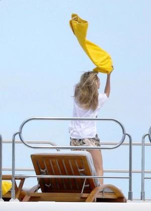 Cara Delevingne Bikini Photos: St Tropez  2014 -06