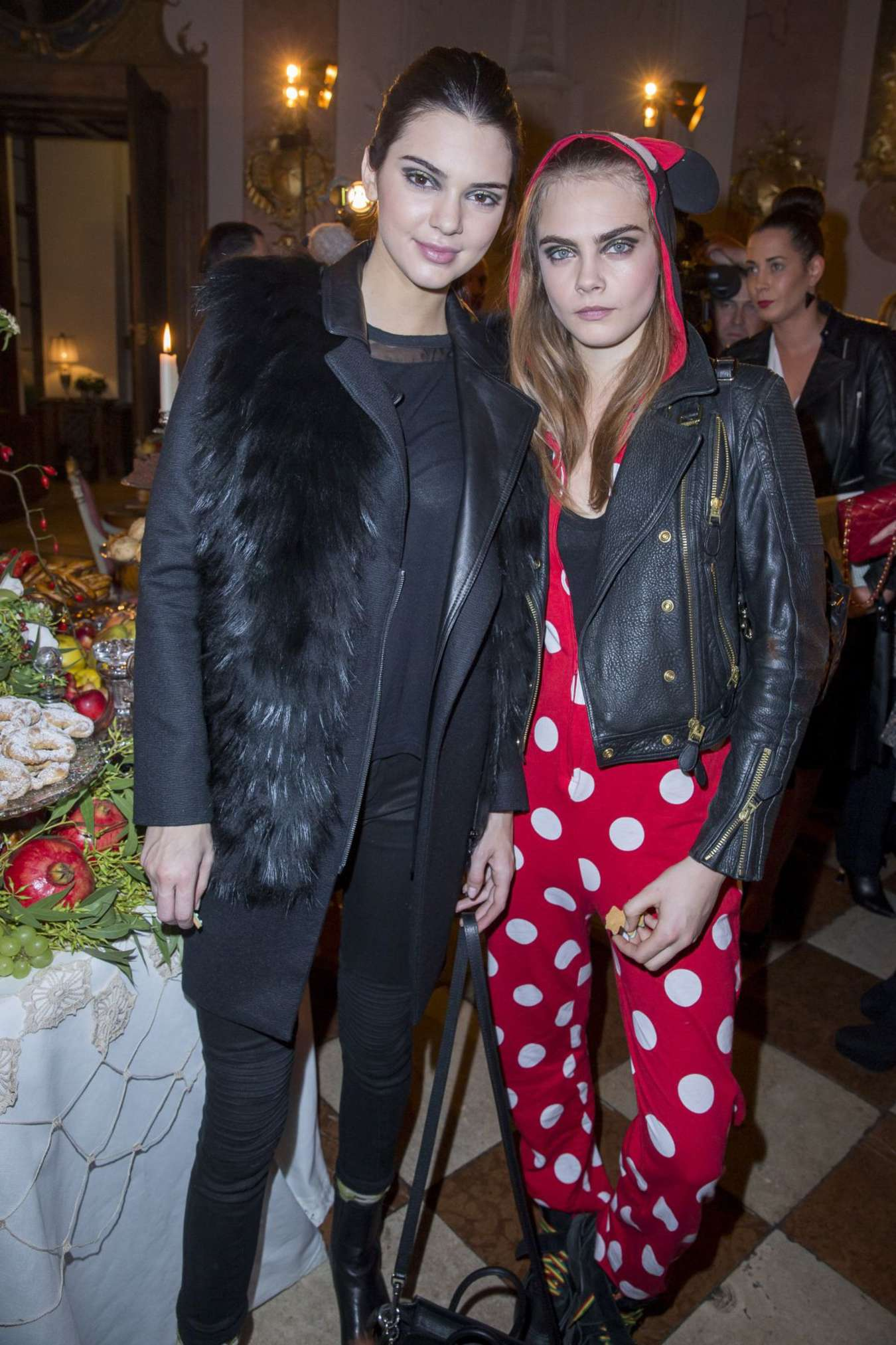 Cara Delevingne & Kendall Jenner - Chanel Metiers d'Art Collection 2014/15 Paris-Salzburg in Austria