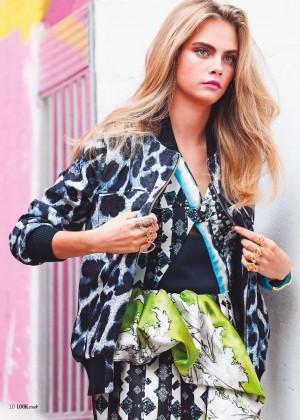 Cara Delevingne: Look Magazine -01