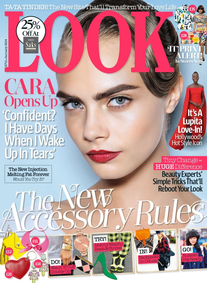 Cara Delevingne: Look Magazine -02